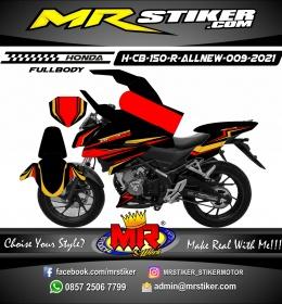 Stiker motor decal Honda CB 150 R All New Red Spesialis Line FullBody