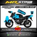 Stiker motor decal Honda CB 150 R Crack Supermoto Skull FullBody