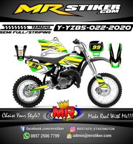Stiker motor decal Yamaha YZ 85 Spesialis Race Type 1