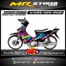 Stiker motor decal Honda Karisma ColorFul Graphic