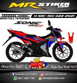Stiker motor decal Honda Sonic 150 R Race Line Sporty