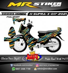 Stiker motor decal Honda Supra X Airbrush Grafis (FullBody)