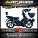 Stiker motor decal Honda Supra X 125 Light Thunder (FullBody)