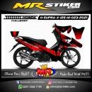 Stiker motor decal Honda Supra X 125 HI Line Grafis (FULLBODY)