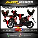 Stiker motor decal Honda Vario 150 Dayak Culture (FULLBODY)