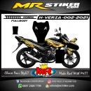 Stiker motor decal Honda Verza Gold Graphic Tech (FULLBODY)