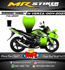Stiker motor decal Honda Verza Fox Green Line (FULLBODY)