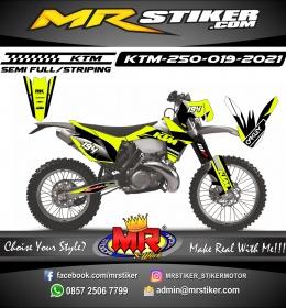 Stiker motor decal KTM 250 Stabillo Oakley