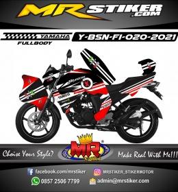 Stiker motor decal Yamaha Byson New Fullbody Lorenzo Graphic Theme