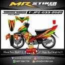 Stiker motor decal Yamaha Jupiter Z Airbrush Grafis Line FullBody