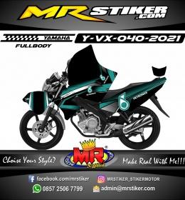 Stiker motor decal Yamaha Vixion Tosca Petronas Fullbody