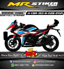 Stiker motor decal Honda CBR 150 New Line Tech Grafis Racing
